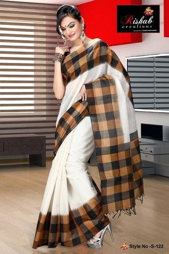 Silk Cotton Sarees- S 122