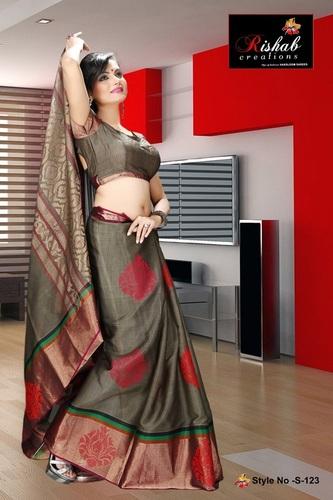 Silk Cotton Sarees- S 123