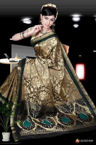 Designer Silk Sarees - D 910