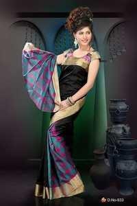 Designer Silk Sarees - D 933