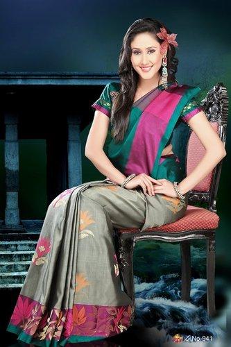 Fancy Silk Sarees - D 941