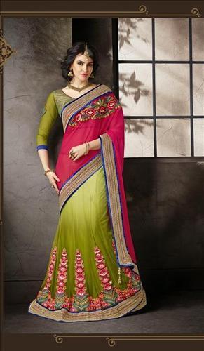 Designer Lahenga Saree