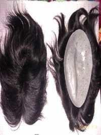 Men's Human Hair Wig
