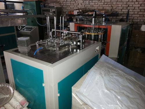 RUNNING COUNDITION 30 DAYS USED DISPOSABEL PAPER CUP MACHINE RZ 2210 URGENTLY SALE IN DARBANGA BIHAR