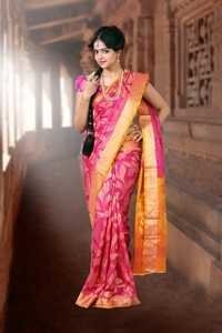 Temple Silk Sarees - D 956