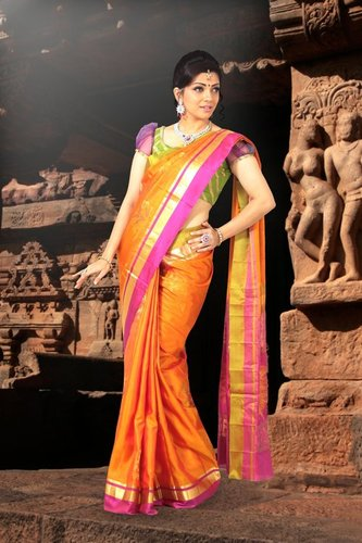 Kanchipuram Silk Sarees - D 957