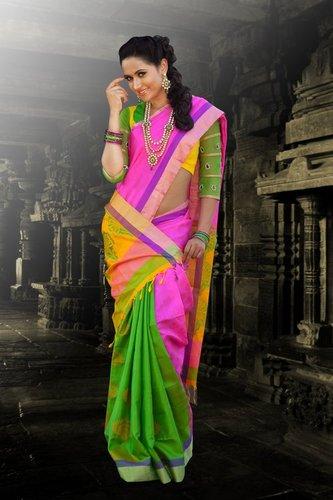 Traditional Silk Sarees - D 965