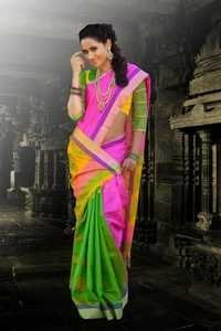 Traditional Silk Sarees - D 965