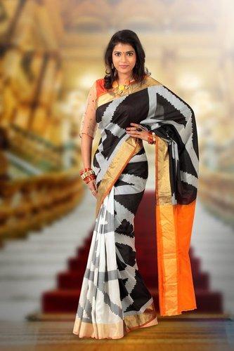 Designer Silk Sarees - D 972