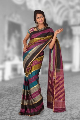 Soft Silk saree - D 976