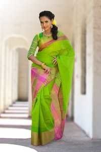 Soft Silk saree - D 977