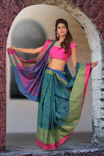 Soft Silk saree - D 979