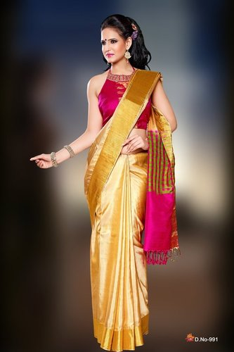 Designer Silk Sarees - D 991