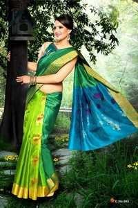 Fancy Silk Sarees - D 993