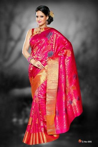 Designer Silk Sarees - D 995