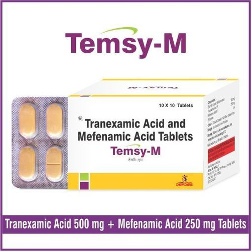 Tranexamic 500 mg. + Mefenamic 250 mg.