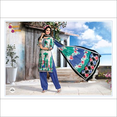 Season's Special / Cotton Unstitched Salwar Kameez