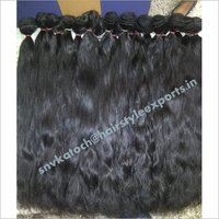 Unprocessde Temple Staright Hair Weft Extensions