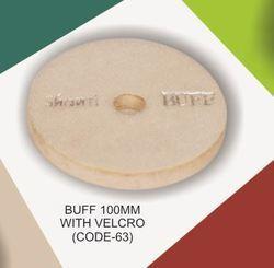 Buff Velcro Polisher Pad