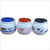 15Kg Plastic Matka Dahi Containers
