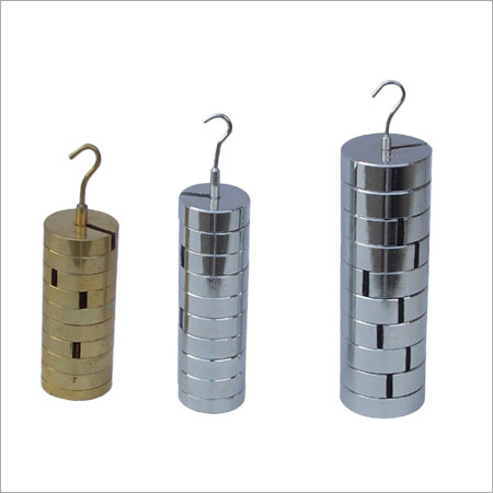 Slotted Calibration Weights