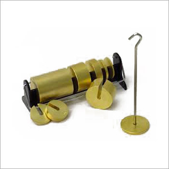 Brass Hooked Weight Set