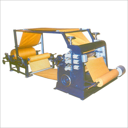 Vertical Type Single Face Paper Corrugation Machine