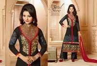 Amazing Black Embroidery Work Pakistani Suit