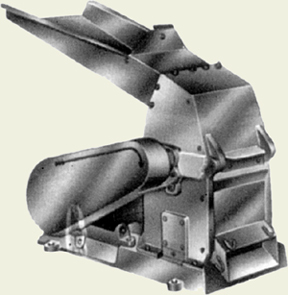 Single Door Circle Hammer Mill