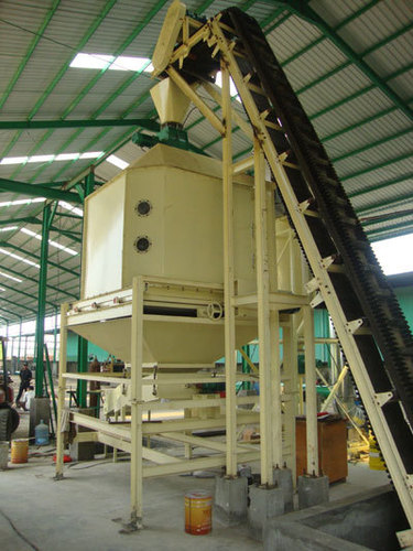 Vertical Pellet Cooler