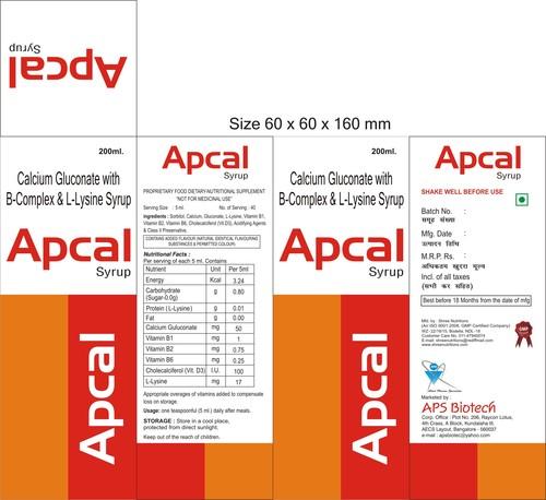 Apcal Syrup