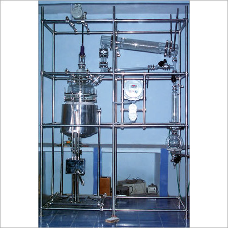 Mobile Type Distillation Assembly