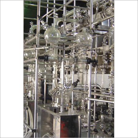 Pneumatic Type Distillation Unit