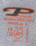 Garment Kintted Work Gloves Label Heat Transfer