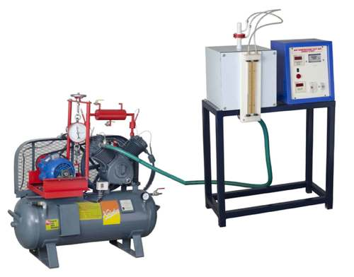 DOUBLE STAGE AIR COMPRESSOR TEST RIG