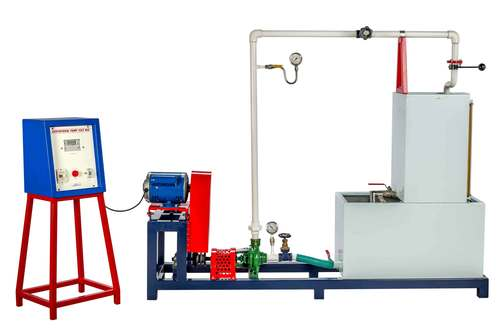 CENTRIFUGAL PUMP TEST RIG (With Variable Speed Swinging Field Dynamometer)