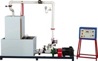 Multi Stage, Variable Speed, Series & Parallel Centrifugal Pump Test Rig