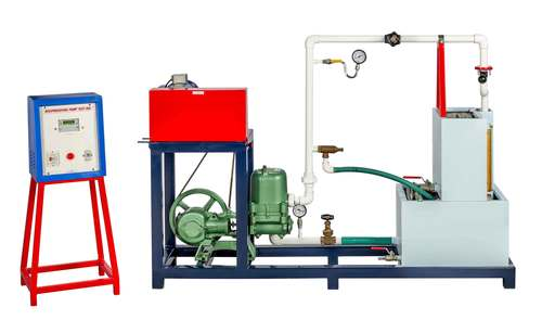 RECIPROCATING PUMP TEST RIG (With Three Prefixed Speeds)