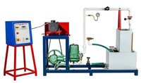 RECIPROCATING PUMP TEST RIG (With Variable Speed System)