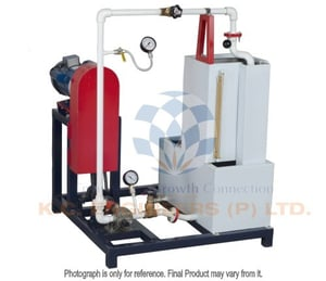 Gear Pump Test Rig (With Variable Speed Swinging Field Dynamometer)