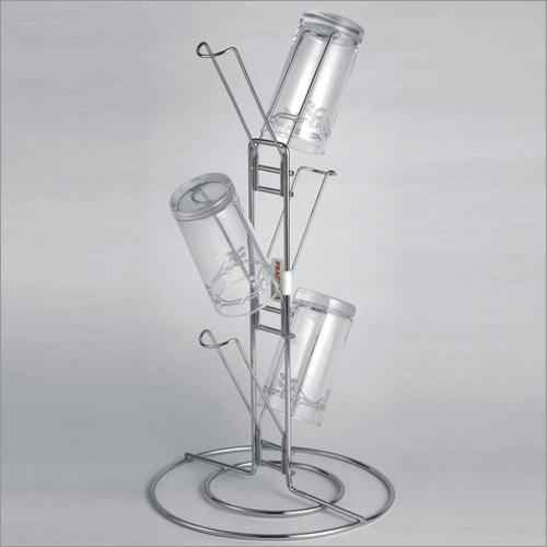 Standing Glass Holder (6 Line)