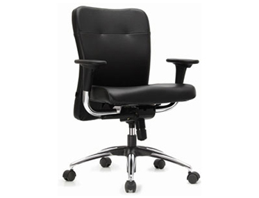 Godrej Leatherite Mid Back Chairs