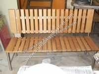 Wooden SS Garden Bench