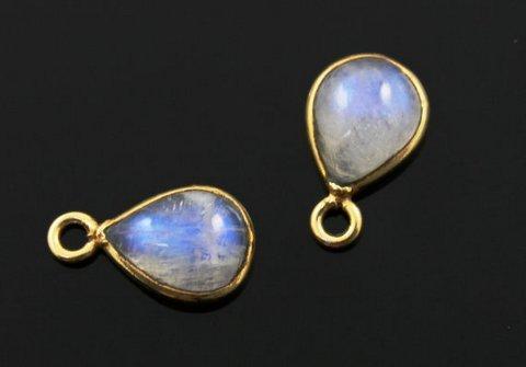 Moonstone Gemstone Connectors