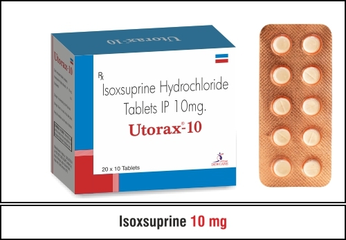 Isoxsuprine Hcl (Sustained Release) 40mg