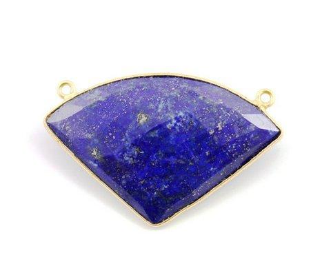 Natural Lapis Lazuli Gemstone Connectors