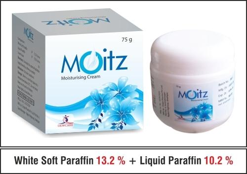 White soft Paraffin 13.2 % w/w + Liquid Paraffin 10.2 % w/w