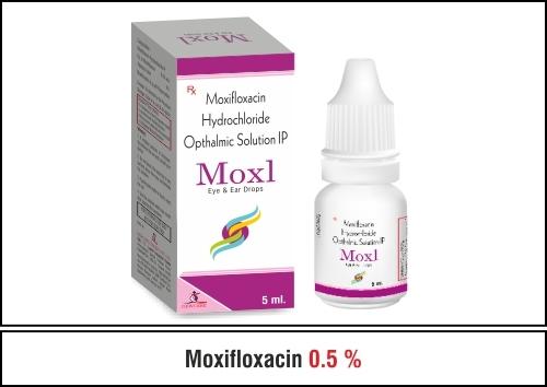 Moxifloxacin 0.5 %