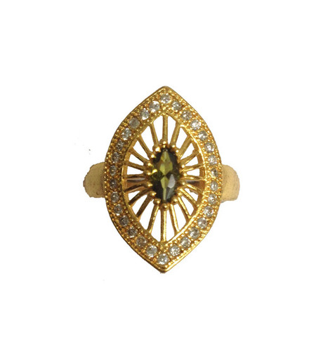 Imitation Gold Plated Ring