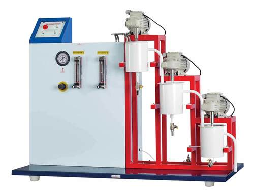 CASCADE CONTINUOUS STIRRED TANK REACTOR - Peristaltic Pump Feed System